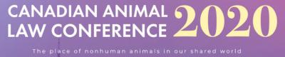 Canadian Animal Law Conference 2020 Logo