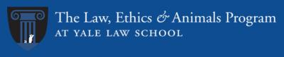 The Law, Ethics & Animals Program at Yale Law School Logo