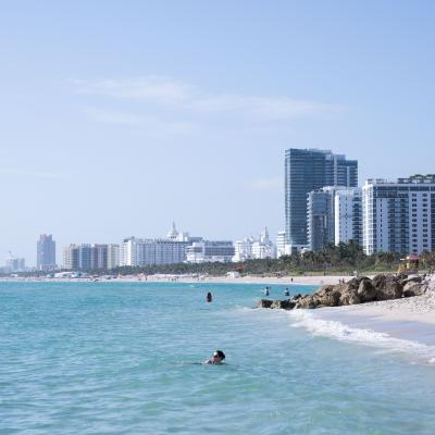 A view of Miami Beach