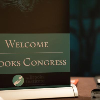 Welcome Sign for the Brooks Congress